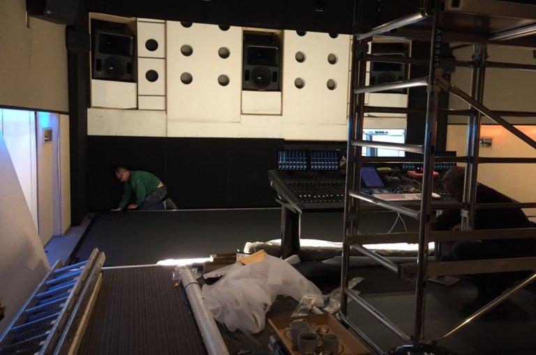 Theatre A build 2
