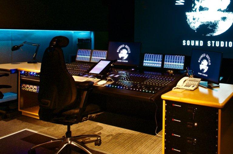 Theatre A desk 2