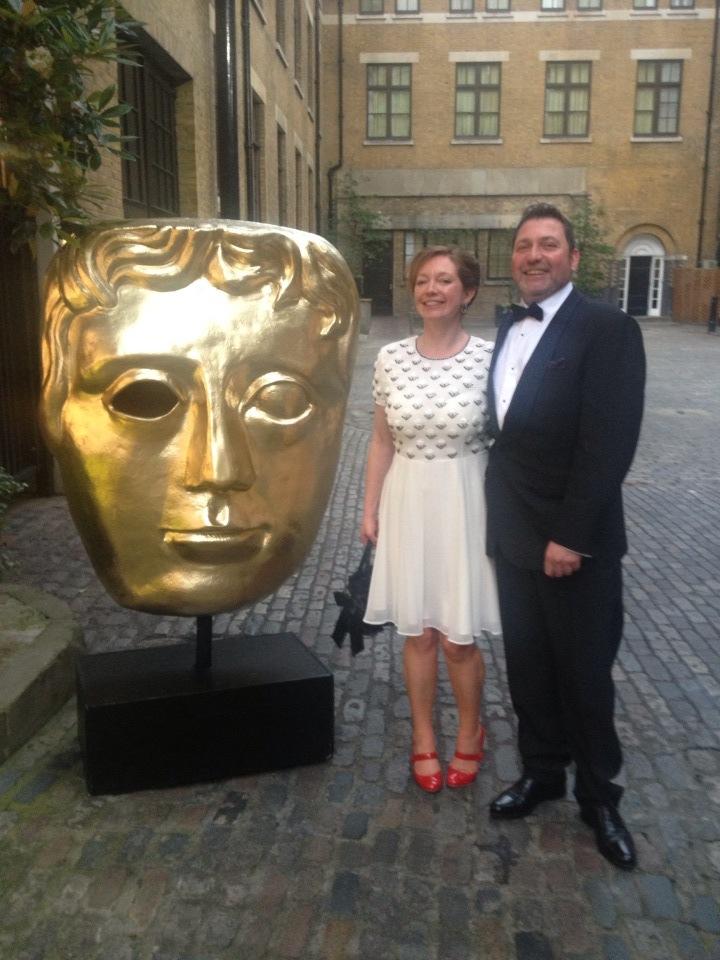 Kate & Russ At Awards